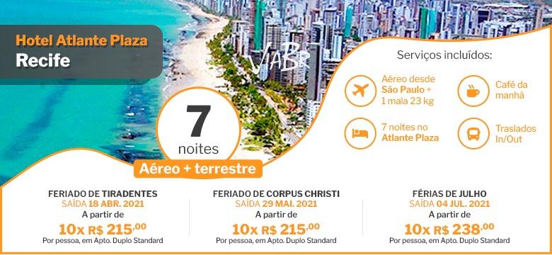 Pacote para Atlante Plaza   Agência de viagem e turismo   ViaBr