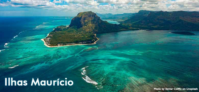 Pacote de viagem para Ilhas Maurício