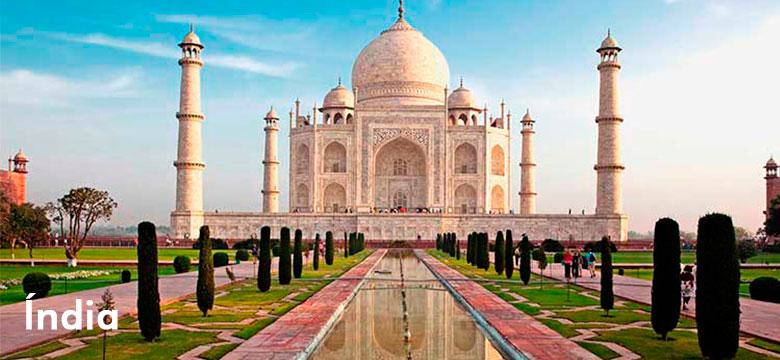 Pacote de viagem para Índia