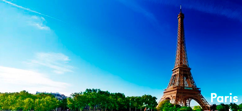 Pacote de viagem para Paris | Agência de viagem e turismo | ViaBr