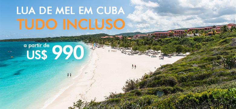 Promo��o para Lua de Mel em Cuba