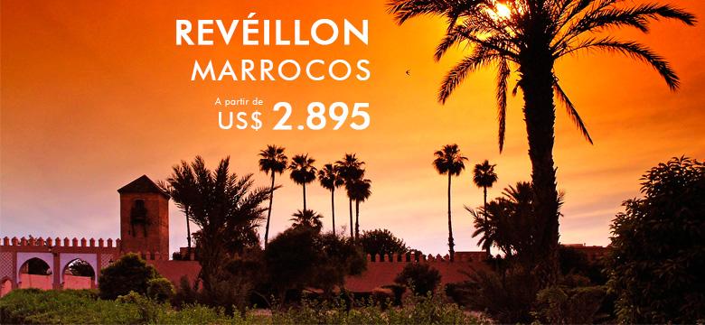 Pacote de viagem para Réveillon em Marrocos