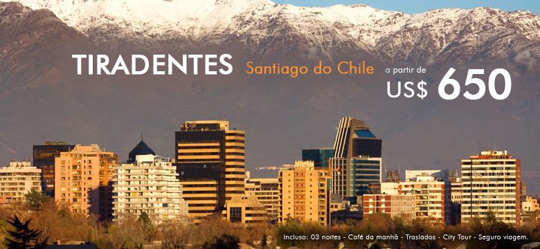 Pacote de Viagem para Feriado Tiradentes em Santiago do Chile