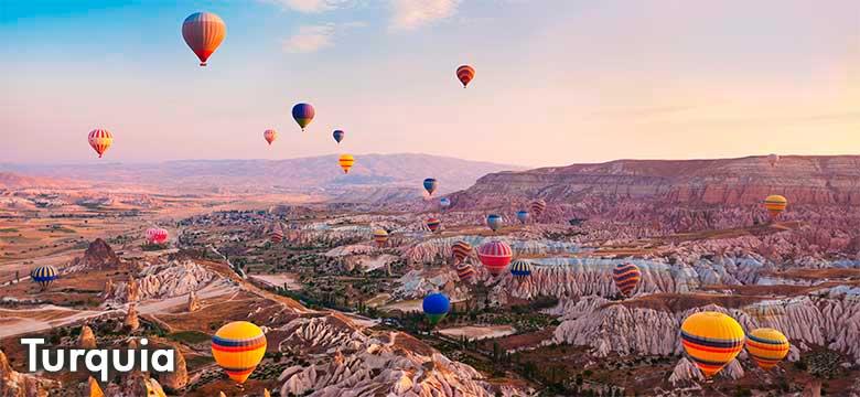 Pacote de viagem para Turquia